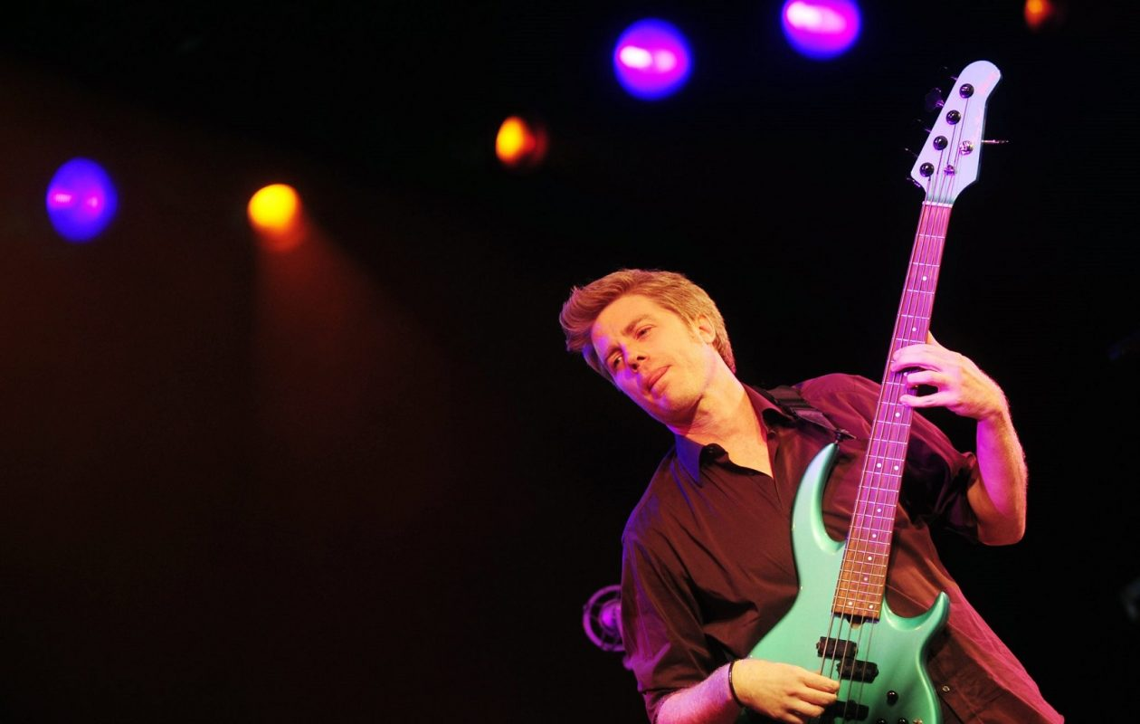 Kyle Eastwood performing in 2011 during the 35th Vitoria-Gasteiz Jazz Festival in Spain. (RAFA RIVAS/AFP/Getty Images)