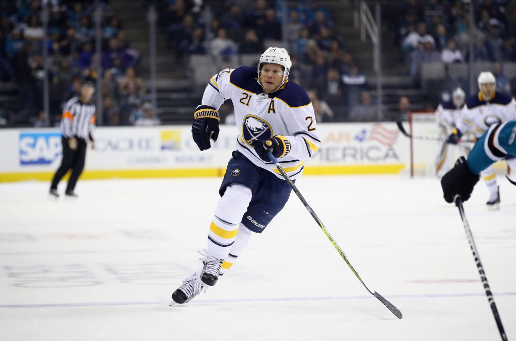 Kyle Okposo is back in the lineup tonight (Getty Images).