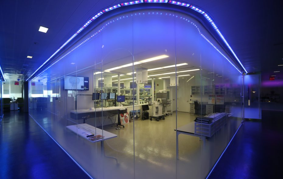 A training lab at the Jacobs Institute in Buffalo. (John Hickey/ News file photo)