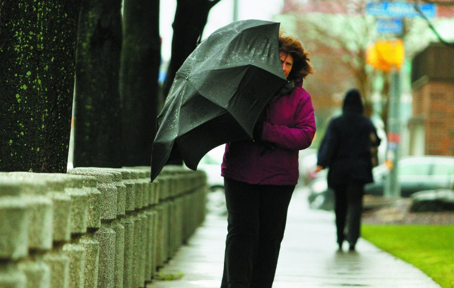 Wind and rain are in the forecast for the early part of the week. (Mark Mulville/Buffalo News file photo)