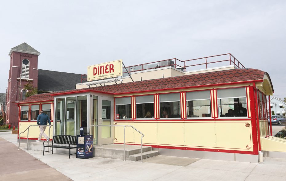 The Swan Street Diner is the latest addition to Larkinville (Sharon Cantillon/Buffalo News)