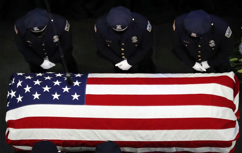 Officer Craig Lehner is laid to rest