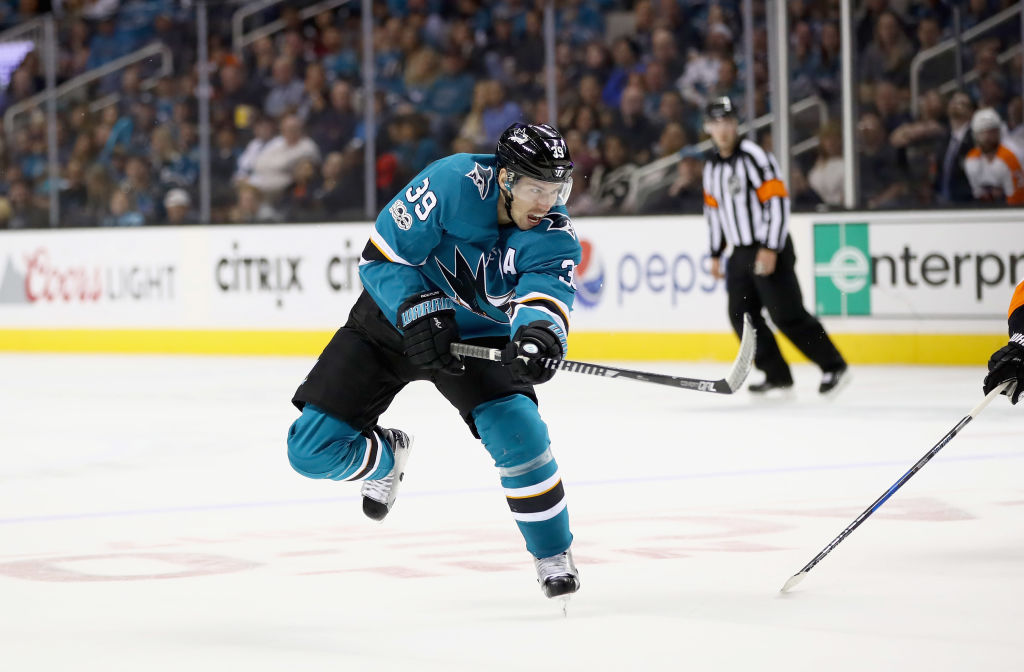 San Jose Sharks center Logan Couture grew up as a Bills fan in London, Ont. (Getty Images)
