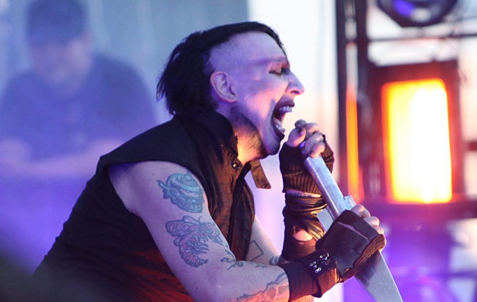 Marilyn Manson  at the Outer in 2013.  (Sharon Cantillon/Buffalo News)