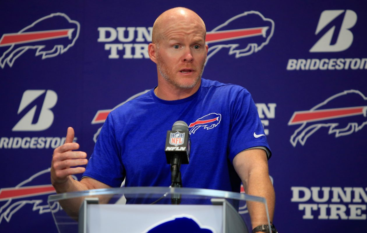 Buffalo Bills head coach Sean McDermott. (Harry Scull Jr./Buffalo News file photo)