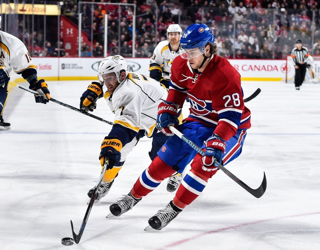 Nathan Beaulieu was sent from Montreal to Buffalo in June for a third-round pick (Getty Images).