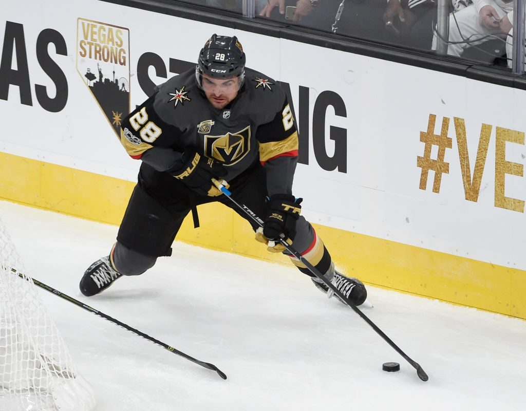 William Carrier was taken by the Golden Knights in the expansion draft. (Getty Images)