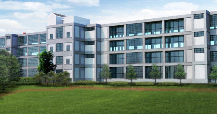 Rendering of Nick Sinatra's proposed Pierce Arrow Apartments in North Buffalo. (Courtesy Sinatra & Company Real Estate)