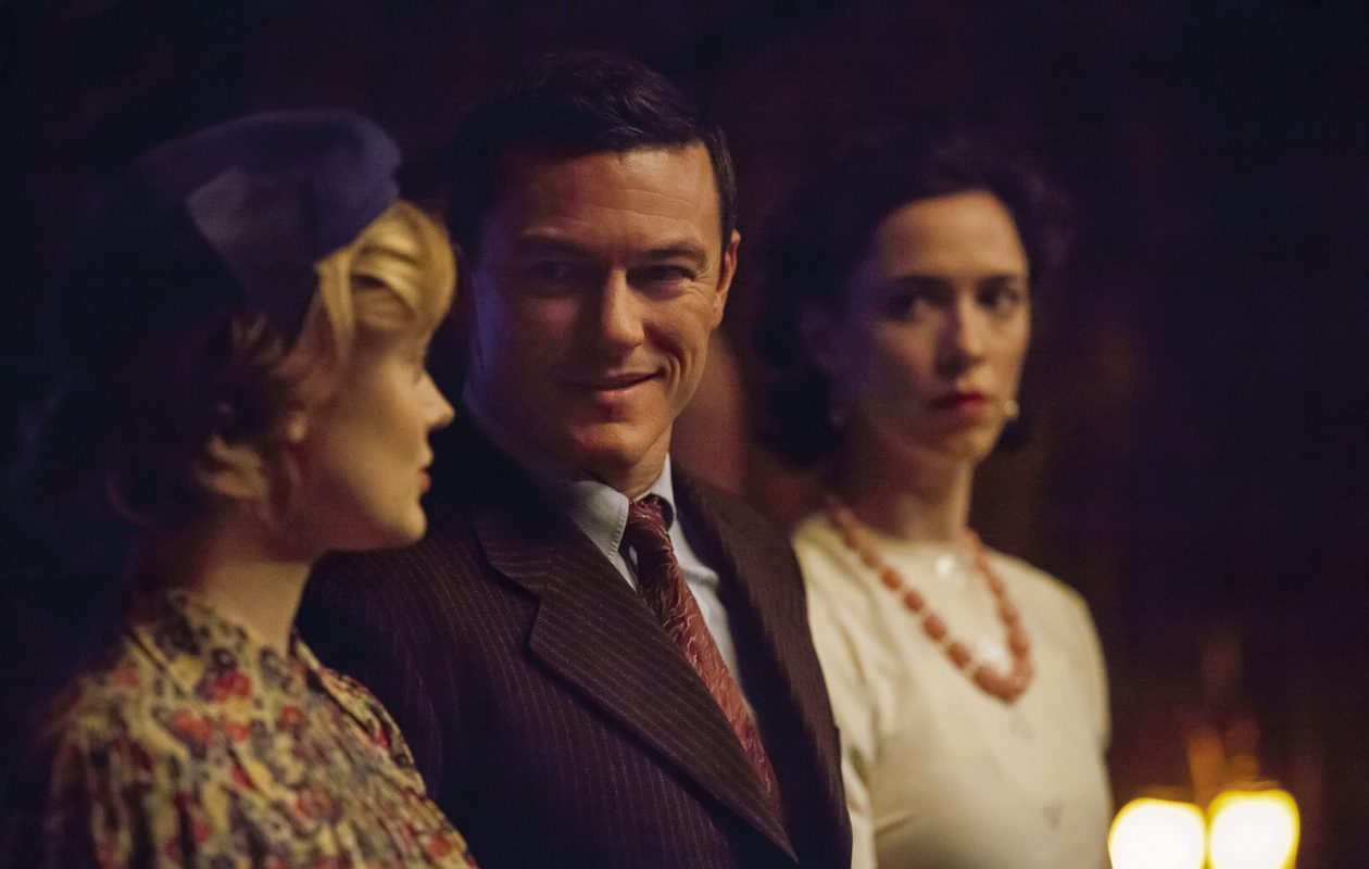 From left, Bella Heathcote stars as Olive Byrne, Luke Evans as Dr. William Marston and Rebecca Hall as Elizabeth Marston in the film, 'Professor Marston and the Wonder Women.' (Claire Folger/Annapurna Pictures)