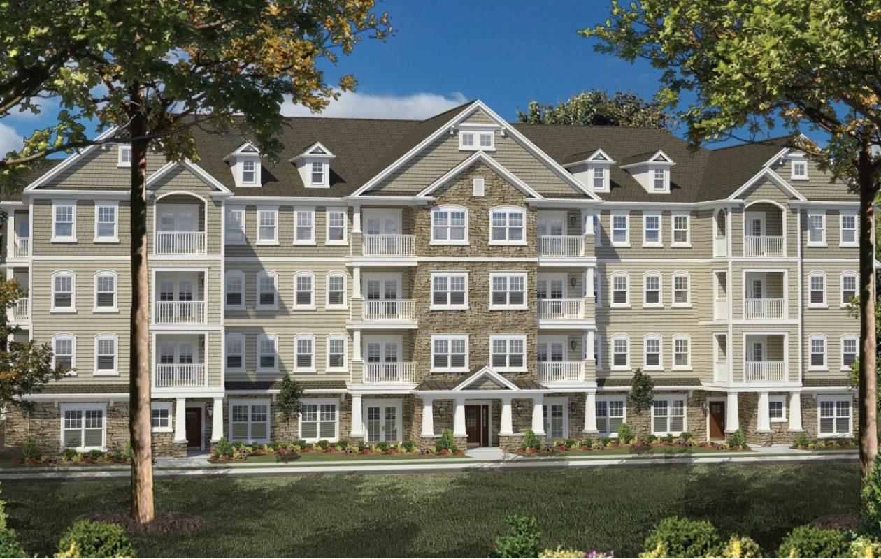 Rendering of River's Edge apartments. (Courtesy Visone Enterprises).