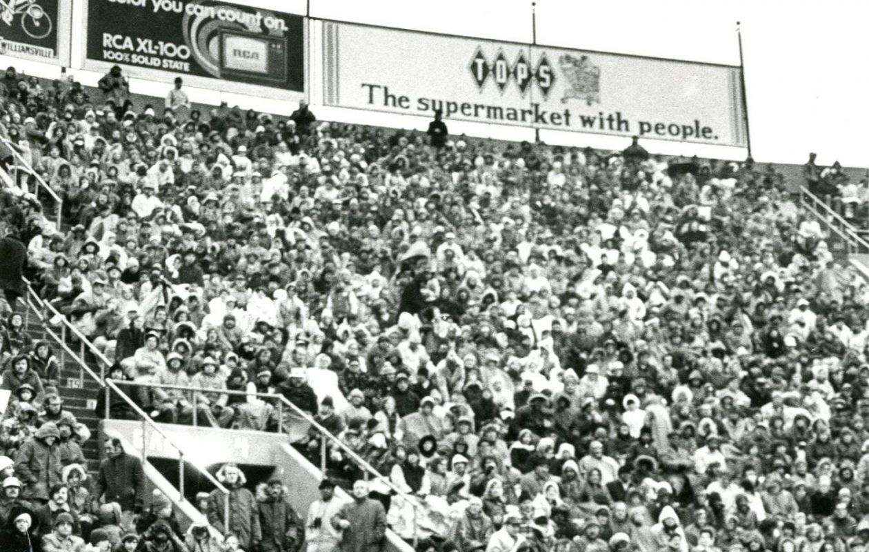 Fans pack the Rockpile. (News file photo)