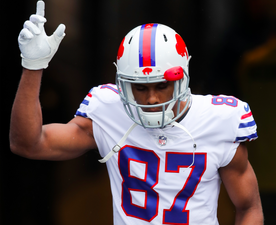 Former Bills receiver Jordan Matthews signed with the New England Patriots as an unrestricted free agent. (Getty Images)