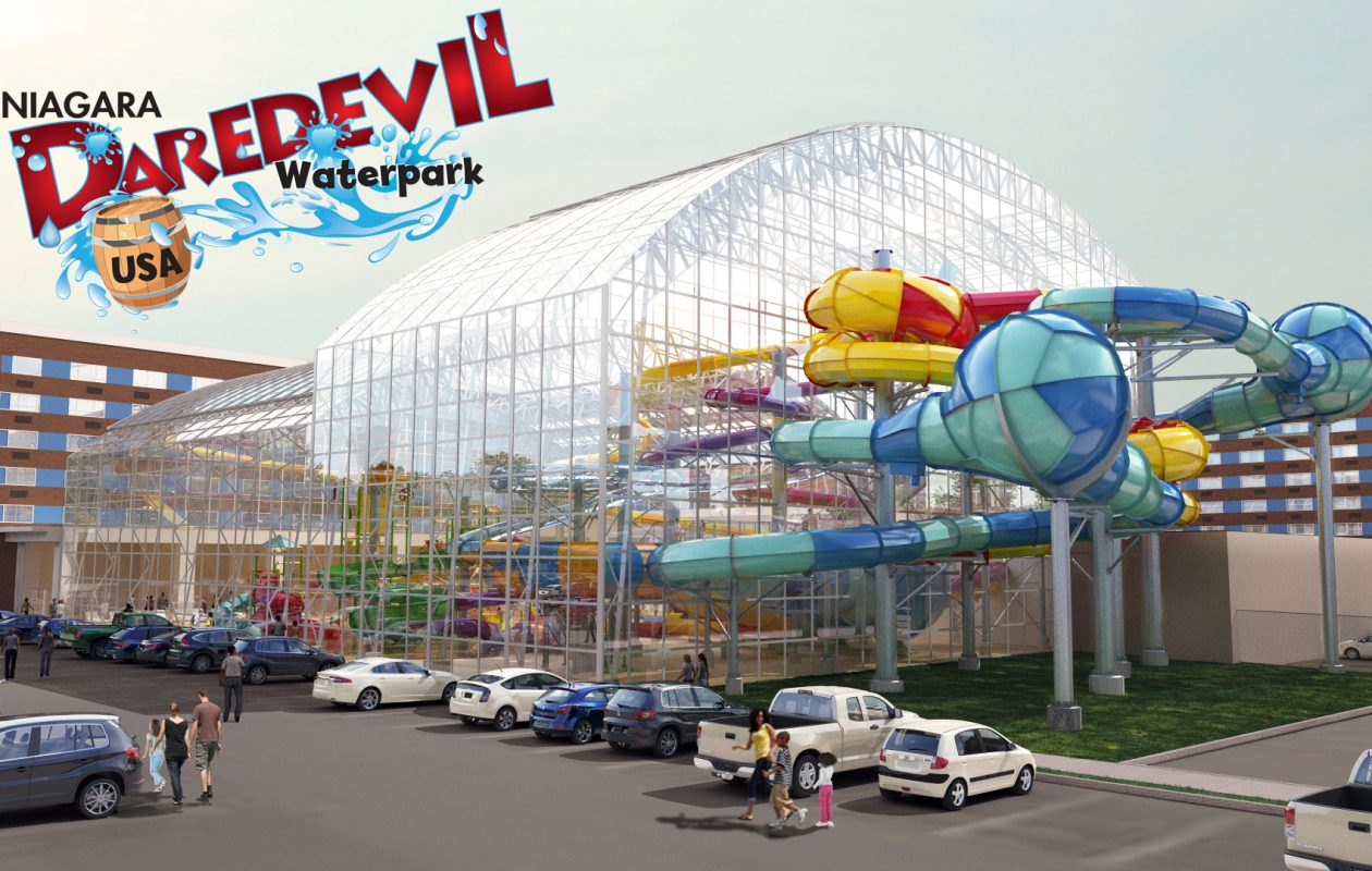 An artist's rendering of Niagara Daredevil Waterpark. (Courtesy NFNY Hotel Management)