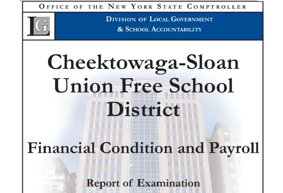 Sloan School District officials disagree with state audit.