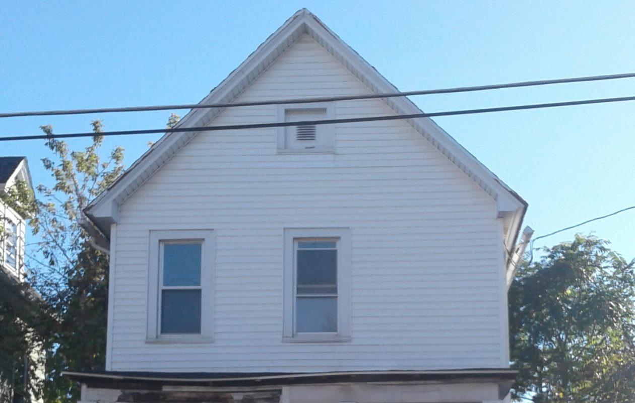 The house at 11 South St., Lockport, on Oct. 18, 2017. (Thomas J. Prohaska/Buffalo News)