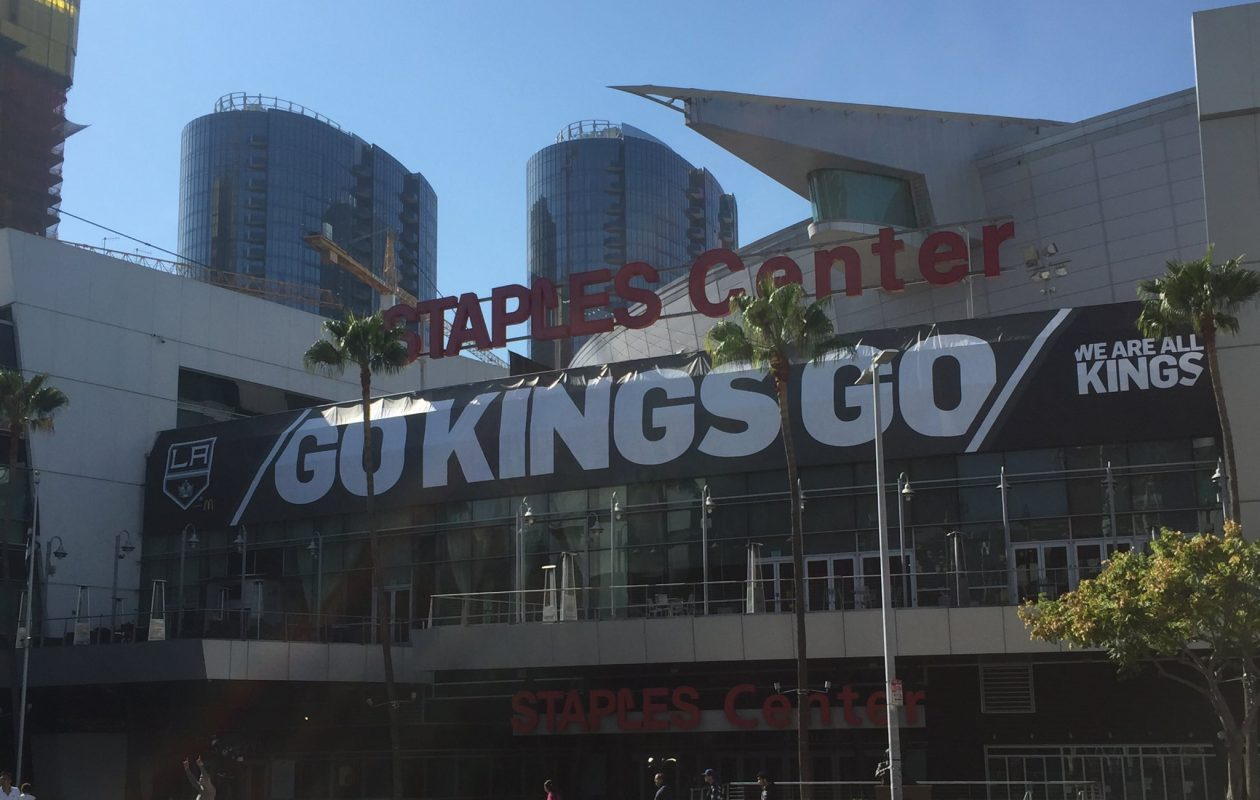 It's been nearly 14 years since the Sabres won a game in Staples Center -- and more than seven since they scored a goal (Mike Harrington/Buffalo News).
