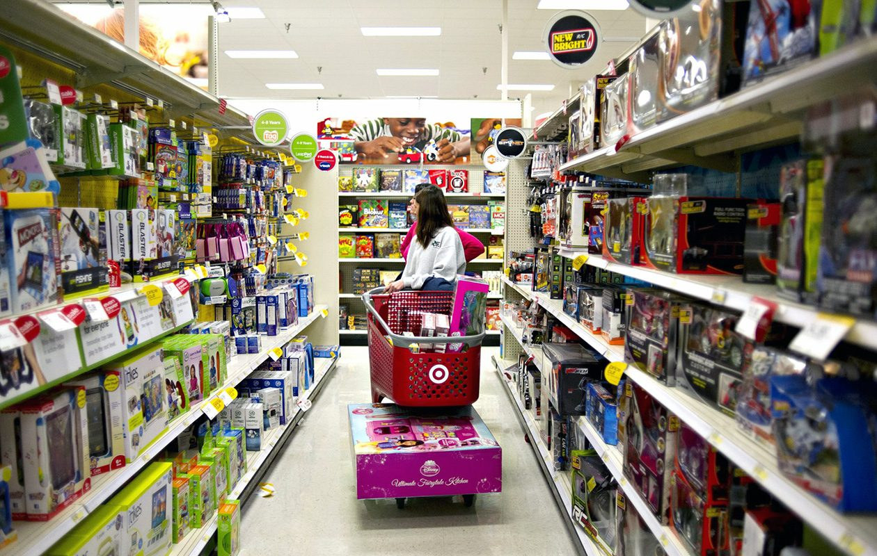 It might feel too early to be thinking about Christmas shopping, but it's not. (Daniel Acker/Bloomberg file photo)