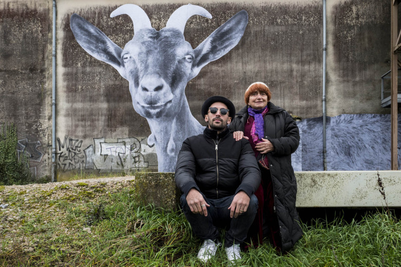 Agnes Varda and photographer/muralist JR journeyed through rural France to capture images of everyday people in 'Faces Places.'