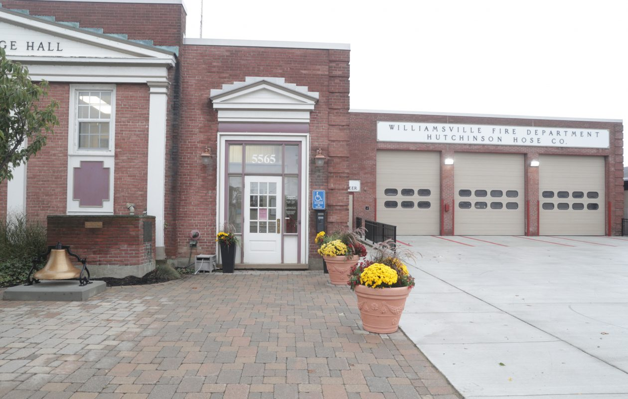 Williamsville Fire Dept. still uses a loud whistle to summon volunteers to the station to respond to calls for help. This has irked several nearby residents, who complained to the Village Board.  (John Hickey/Buffalo News)