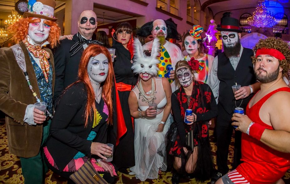 Costumes from the 2016 Witches Ball in Statler City. (Don Nieman/Special to The News)