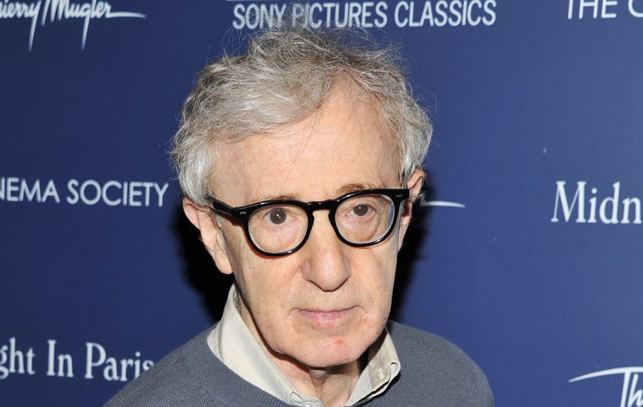 """Woody Allen at a 2011 screening of """"Midnight in Paris"""" in New York City. (Stephen Lovekin/Getty Images)"""
