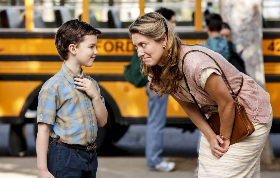 """The return of """"Young Sheldon"""" to CBS is being pre-empted by the Bills-Jets game Thursday. (Robert Voets/CBS)"""