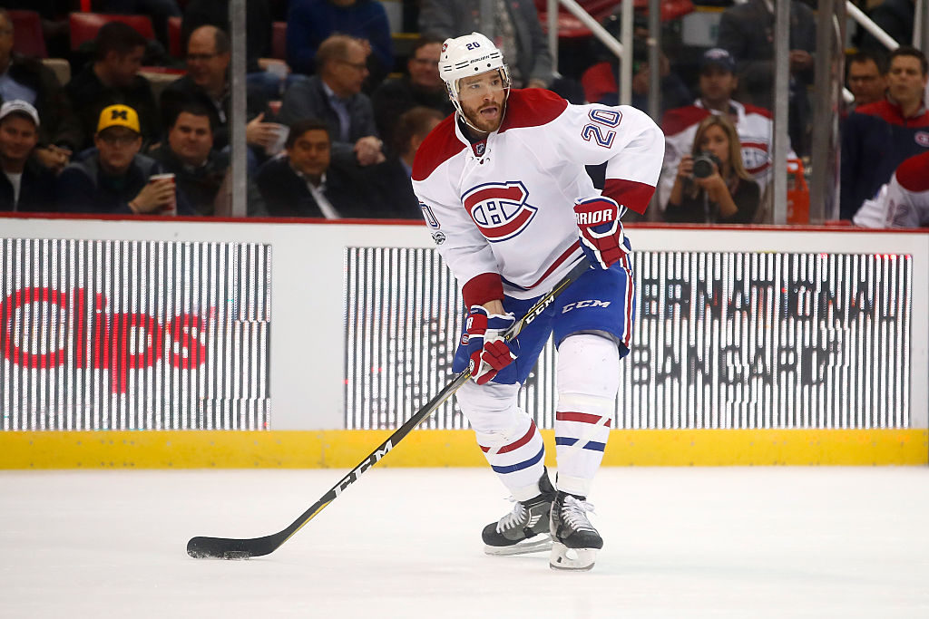 Zach Redmond played 16 games for Montreal last season (Getty Images).