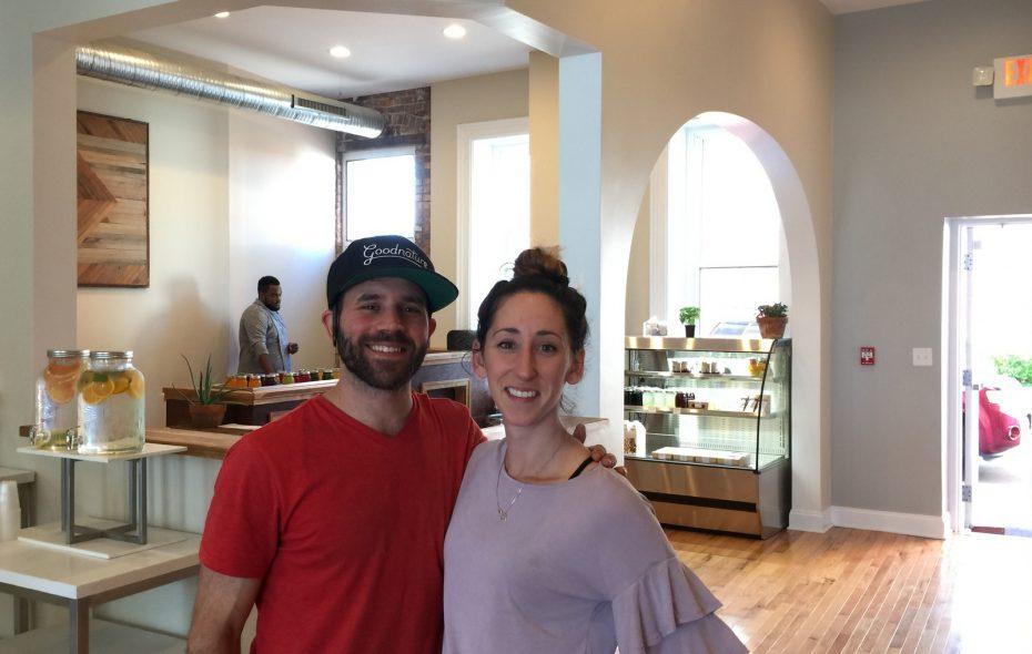 Angelo Ashker and Sarah Nasca, partners at Ashker's on Main. (Andrew Galarneau)