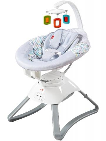 Fisher-Price's Soothing Motion Seats have been recalled due to a fire hazard. (Contributed photo)