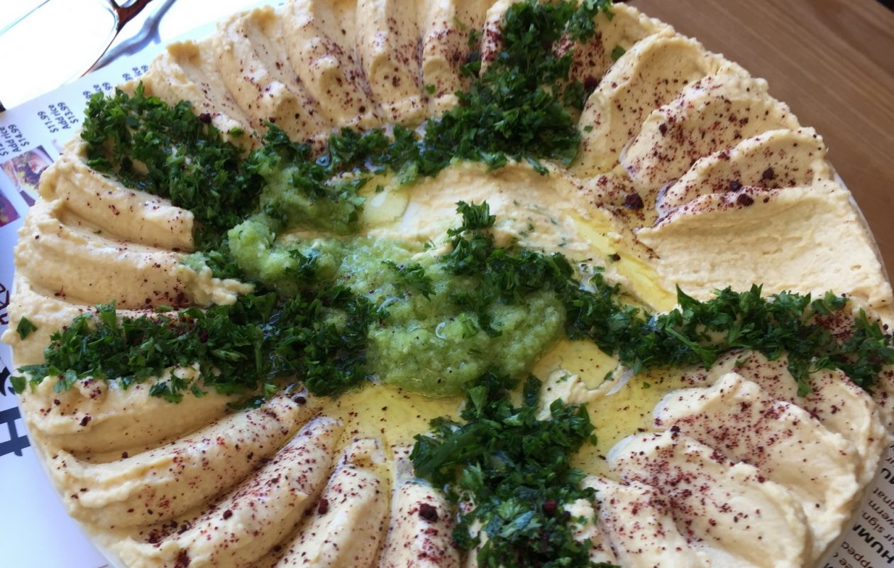 The hummus at House of Hummus will be one of the bites at Yelp event. (Andrew Galarneau/Buffalo News)