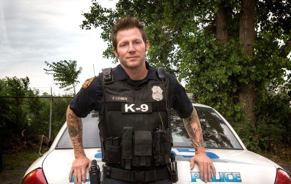 Buffalo Police Officer Craig E. Lehner.  (Photo courtesy of Shannon Davis)