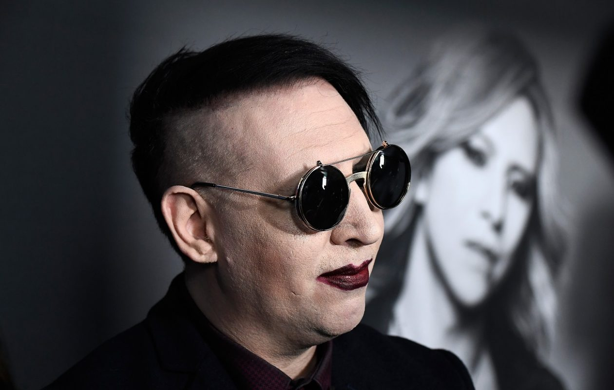 Marilyn Manson will perform in Niagara Falls early next year. (Getty Images)
