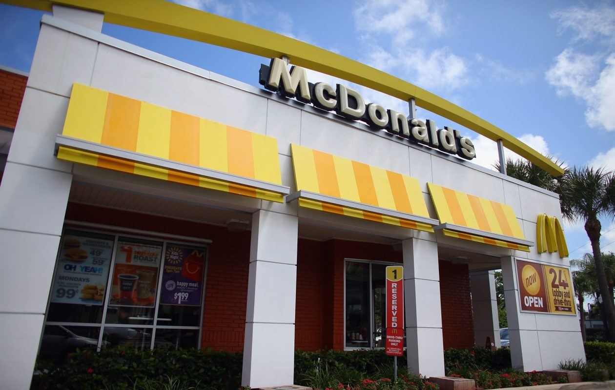 McDonald's has added delivery through UberEats to 12 area restaurants. (Getty Images photo)