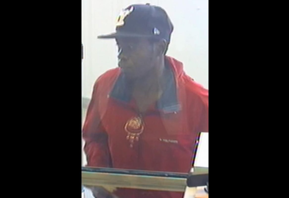 Police say this man robbed a bank on Main Street on Tuesday afternoon. (Photo courtesy Buffalo Police)