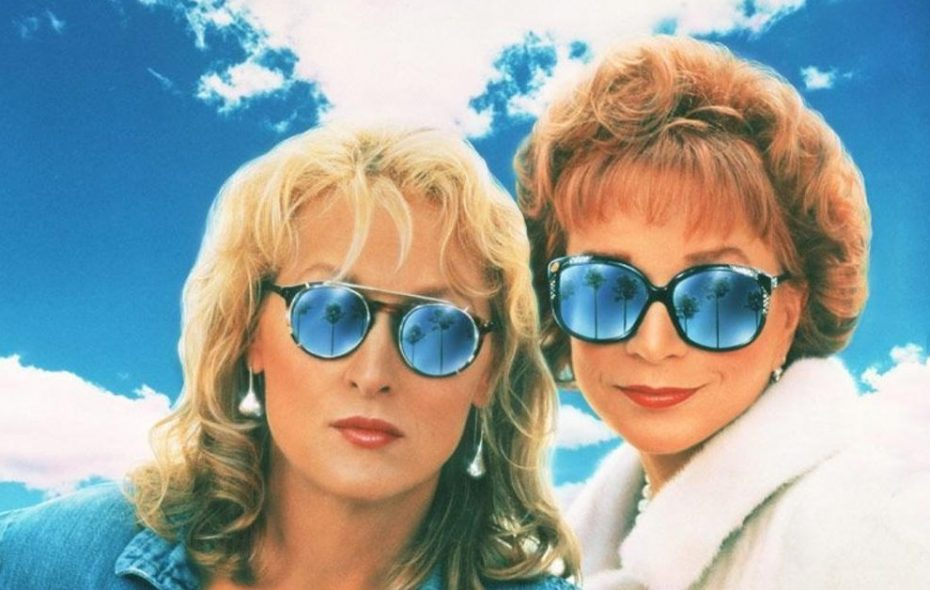 """Meryl Streep, left, and Shirley MacLaine star in """"Postcards from the Edge."""""""
