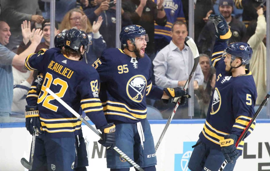 The Buffalo Sabres host the Detroit Red Wings Tuesday night. (James P. McCoy/File Photo)