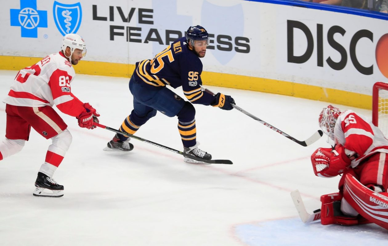 The Buffalo Sabres are hoping to make it three wins in a row. (Harry Scull Jr./File Photo)