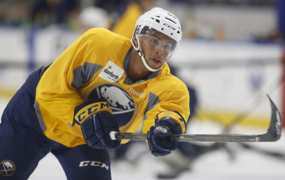 Sabres prospect Devante Stephens was recalled to the Amerks. (Harry Scull Jr./File Photo)