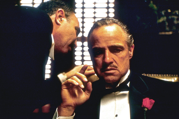 Enjoy Marlon Brando in 'The Godfather' along with good food, drink in a special event at the Screening Room Cinema Cafe.