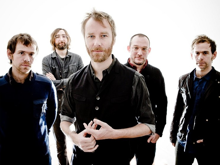 The National show at Town Ballroom will benefit Buffalo String Works.