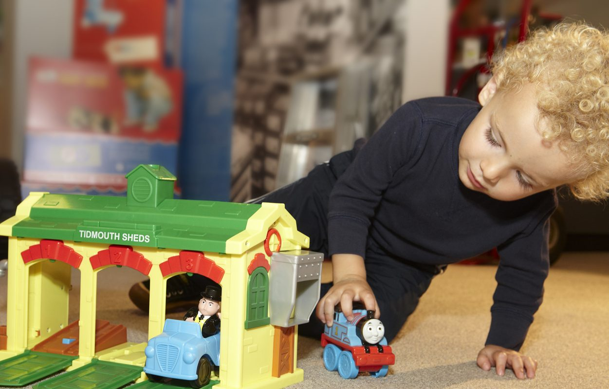 Declines at Fisher-Price were driven by Thomas &  Friends toys, as well as infant products.  (Contributed photo)