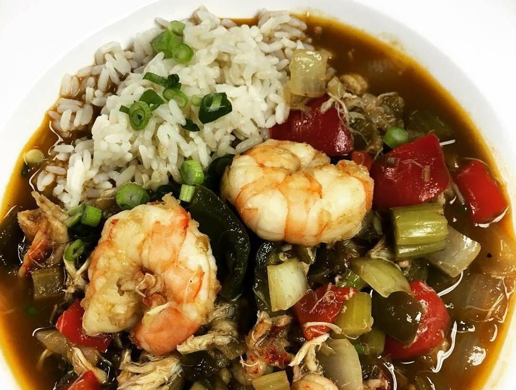 Gumbo like Toutant's shrimp and crab gumbo will be on offer at the inaugural Voodoo Gumbo Fest Oct. 13 at The Terrace. (Toutant)