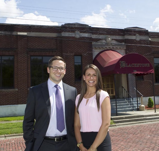Ricky and Heather Turner, the co-owners of Blackstone Advanced Technologies in Jamestown. (Photo courtesy of Ricky and Heather Turner)