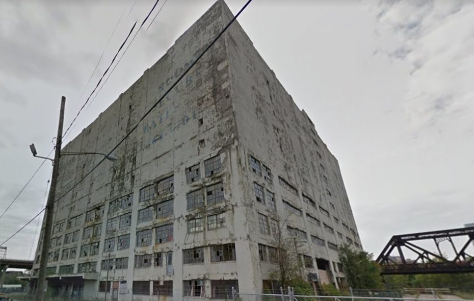 "Albany's Central Warehouse has been called ""the ugliest building ever built in the state of New York."" (Google image)"