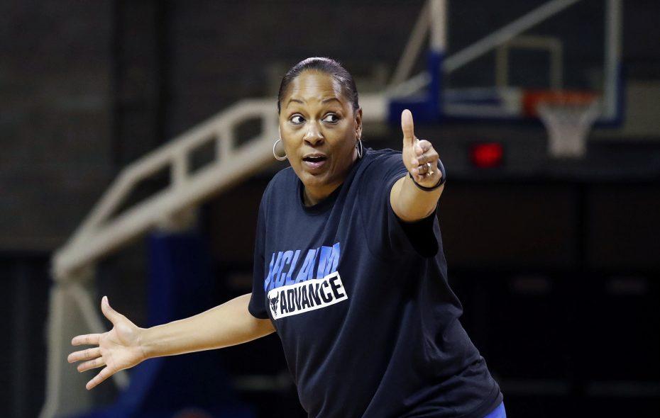 UB coach Felisha Legette-Jack. (Mark Mulville/Buffalo News)