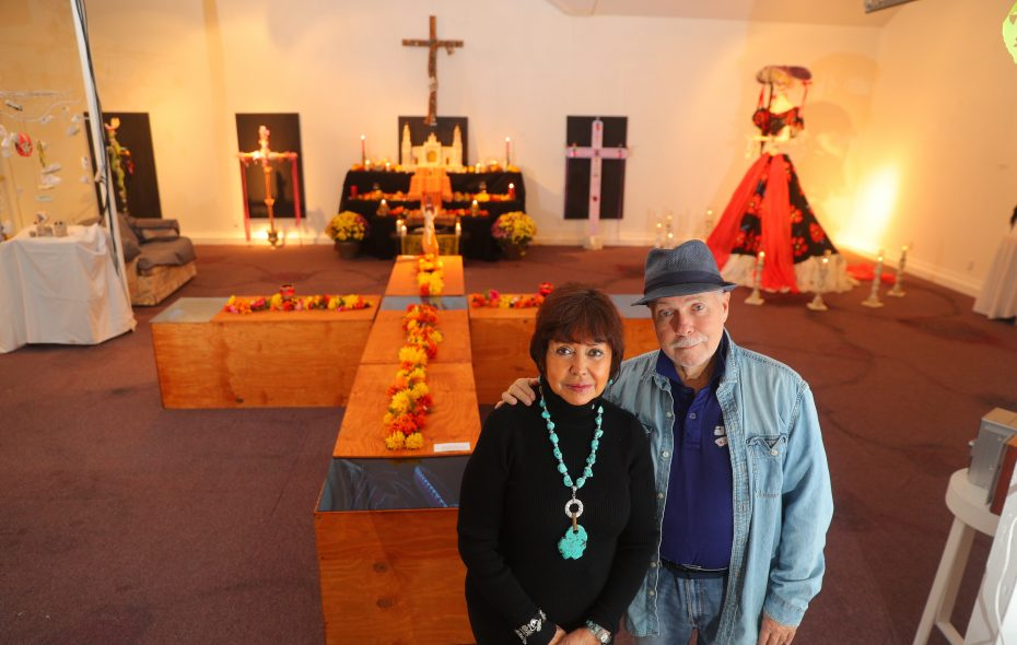 Casa de Arte, a gallery focused on Mexican art founded by Mara Odette-Guerror and Rick Williams, is closing on Nov. 12. (John Hickey/Buffalo News)