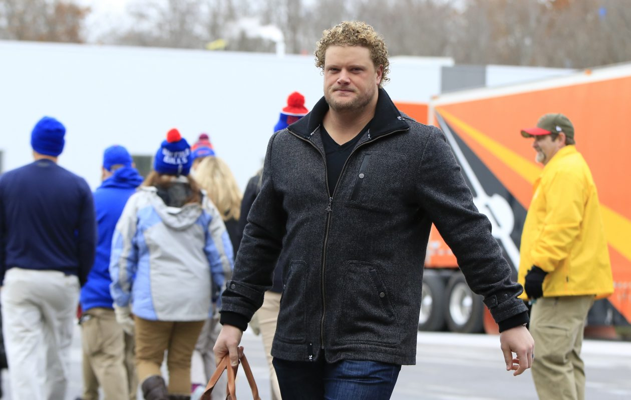 Buffalo Bills center Eric Wood said the team's focus is 'getting back to fundamentals.' (Harry Scull Jr./ Buffalo News)