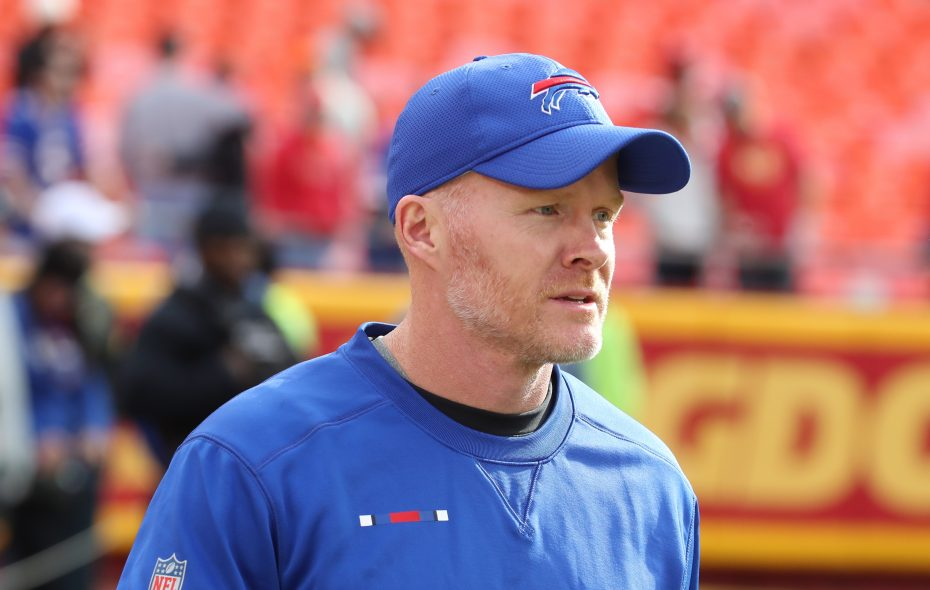 Coach Sean McDermott. (James P. McCoy/Buffalo News)