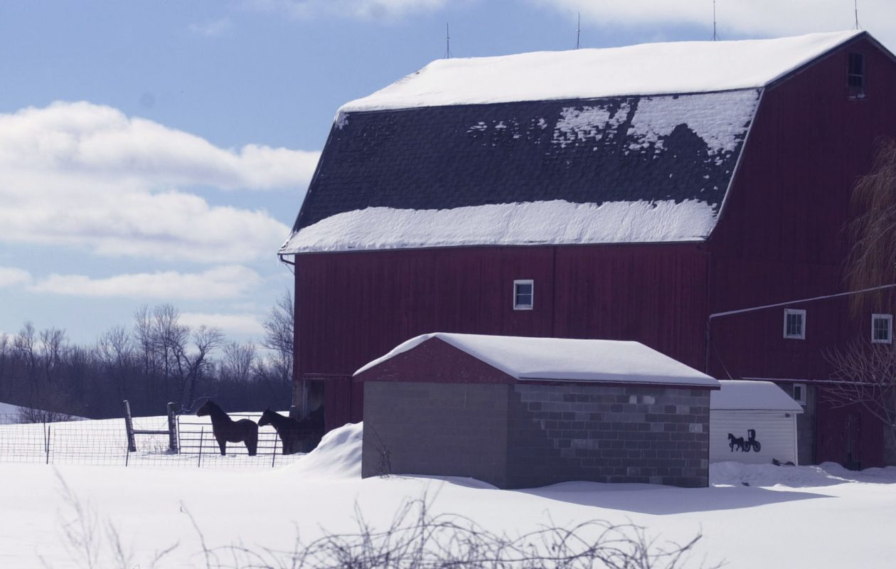 A barn near  Corfu, N.Y. (News file photo)