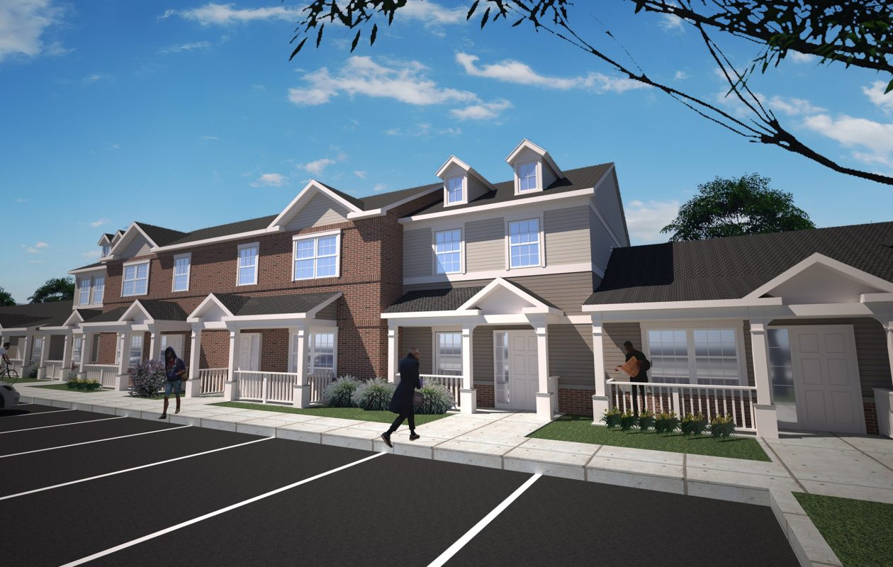 Elim Community Development Corp. and Belmont Housing Resources for WNY are constructing the 30-unit Elim Townhomes project.